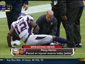 Video - Minnesota Vikings WR Percy Harvin out for the season