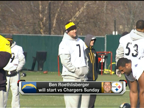 Video - Ben Roethlisberger to start Sunday vs. San Diego Chargers