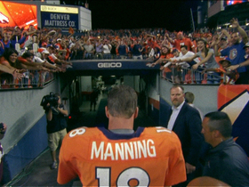 Video - Denver Broncos quarterback Peyton Manning's second act