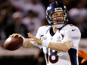 Video - Denver Broncos quarterback Peyton Manning 1-on-1