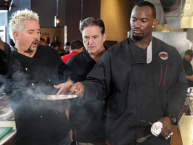 Video - Cooking with Guy Fieri and Marcel Reece
