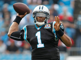 Cam Newton 25-yard TD pass
