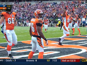Video - Cincinnati Bengals QB Andy Dalton 8-yard TD throw
