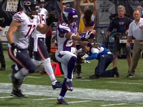 Video - Josh Robinson picks off Cutler