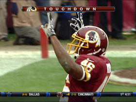Video - Washington Redskins RB Alfred Morris 1-yard TD run