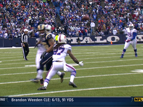 Video - Bills pick off Bradford