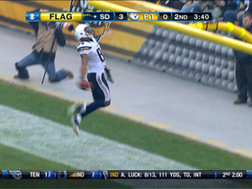 Video - San Diego Chargers WR Danario Alexander 39-yard TD catch