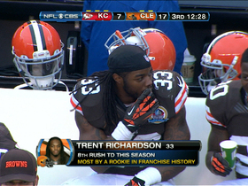 Video - Cleveland Browns RB Trent Richardson dives for 1-yard touchdown