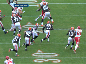 Video - Tashaun Gipson picks off Quinn