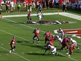 Video - Tampa Bay Buccaneers WR Mike Williams 1-yard touchdown.