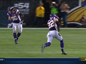Video - Minnesota Vikings DB Harrison Smith pick six