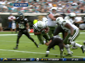 Video - New York Jets RB Bilal Powell 4-yard TD