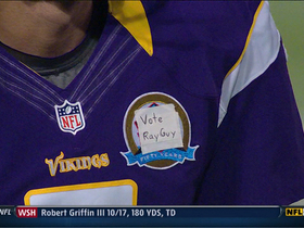 Video - Vikings punter Chris Kluwe shows support for Ray Guy