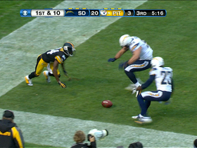 Video - San Diego Chargers TD fumble recovery