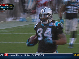 Video - Carolina Panthers RB DeAngelo Williams TD catch