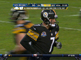Video - Pittsburgh Steelers WR Antonio Brown 1-yard TD catch