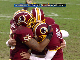 Video - Redskins' winning plays in OT