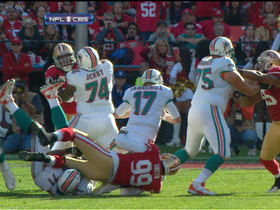 Video - San Francisco 49ers linebacker Aldon Smith sacks Ryan Tannehill