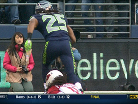 Video - Seattle Seahawks cornerback Richard Sherman pick six