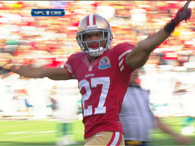 Video - San Francisco 49ers recover muffed punt