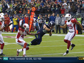 Video - Seattle Seahawks TE Zach Miller 24-yard TD catch