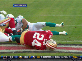 Video - San Francisco 49ers RB Anthony Dixon 1-yard TD run