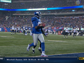 Video - New York Giants WR Hakeem Nicks 25-yard touchdown catch
