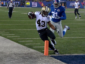 Video - New Orleans Saints RB Darren Sproles 9-yard touchdown catch