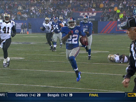 Video - New York Giants RB David Wilson 52-yard touchdown run