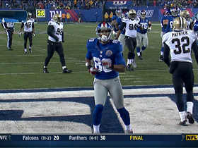 Video - Saints vs. Giants highlights
