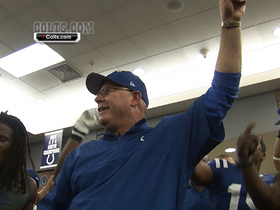Video - Indianapolis Colts celebrate in locker room after third straight win