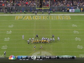 Crosby, 51-yd missed FG