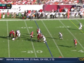 QB Freeman to WR Jackson, 40-yd, pass