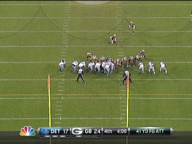 Crosby, 41-yd FG