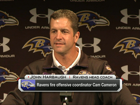 Video - Harbaugh on firing of Cameron