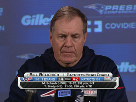 Video - New England Patriots head coach Bill Belichick: 'We played a solid football game in all three phases'