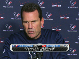 Video - Houston Texans head coach Gary Kubiak: 'We got beat pretty darn good'