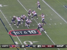 QB Schaub to WR Johnson, 25-yd, pass
