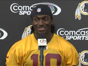 Video - RG3 feels 'really good' about playing Sunday vs. Browns