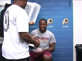 Video - Redskins RB Alfred Morris: RG3 'looked good' in practice