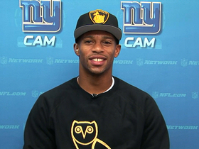 Video - Victor Cruz joins 'NFL AM'