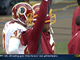 Watch: RG3 cheers on Cousins second TD