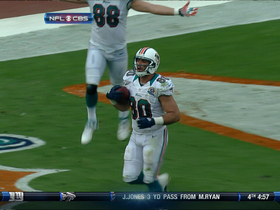 Video - Miami Dolphins TE Anthony Fasano TD catch
