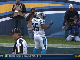 Video - Carolina Panthers RB Mike Tolbert 1-yard TD burst