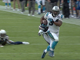 Video - Carolina Panthers RB DeAngelo Williams 45-yard TD catch-and-run