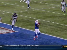 Video - Buffalo Bills WR Stevie Johnson 20-yard touchdown catch