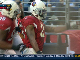 Video - Arizona Cardinals cornerback Patrick Peterson intercepts Matthew Stafford