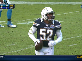 Video - San Diego Chargers LB Larry English fumble recovery