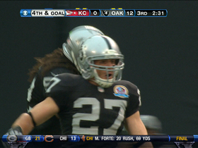 Video - Raiders stop Chiefs