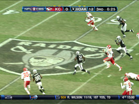 Video - Oakland Raiders RB Mike Goodson 43-yard run
